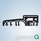 Bauphasenschutzprofil (Schwellenprogramm greenteQ)